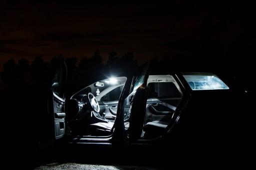 Oświetlenie Wnętrza Led Fiat Bravo Ii Zimny Biały