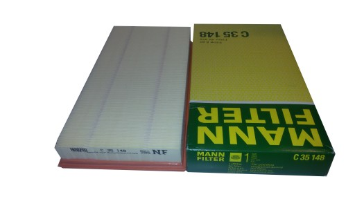 MANN FILTR POWIETRZA C35148 VOLVO 850 C70 S70 V70