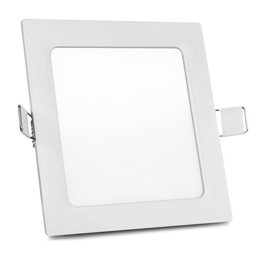 LAMPA SUFITOWA PANEL LED PODTYNKOWY SLIM KWADRAT