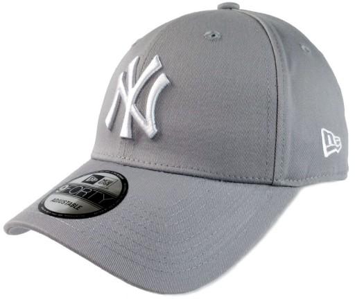 ujęcia stóp 100% wysokiej jakości przytulnie świeże Czapka Bejsbolówka NEW ERA 9Forty NY YANKEES Szara