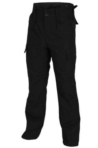 Spodnie Taktyczne TEXAR Wz10 Ripstop Czarne L 9683065190 Odzież Męska Spodnie YG UBHYYG-3