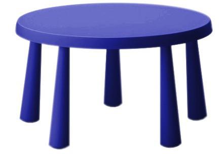 Ikea Stolik Mammut Stół Dla Dziecka Okrągły Duży