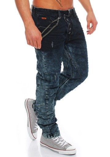 NOWOŚĆ JEANSY CIPO BAXX - 31/34 82-84cm SZELKI 9642296894 Odzież Męska Jeansy EN OPPFEN-7
