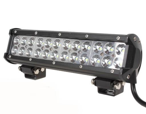 PANELIS LED ATV LIGHT BAR CREE 72 W ZIBINTAS (LEMPOS-FAROS) DO QUADA