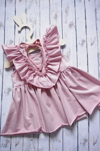 d67177a93d SUKIENKA letnia Pink Feel 86 92 produkt polski 7398124007 - Allegro.pl