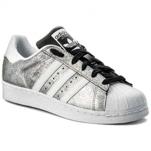 big sale 272f9 93a60 Adidas Superstar DA9099 GLITTER SILVER 36,5