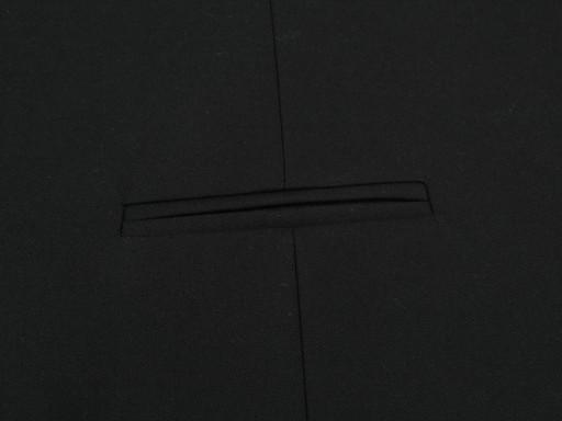 KAMIZELKA MĘSKA GARNITUROWA CZARNA 46 182 7205973368 Odzież Męska Kamizelki AL OIUBAL-9