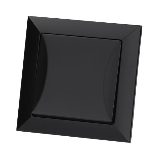 Wyłącznik schodowy OPAL czarny MAT