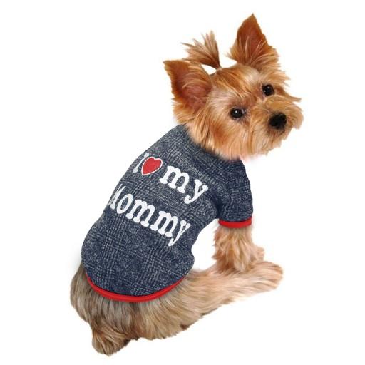 Sweterek Dla Psa I Love My Mommy Rozmiary Xs L 7682734581 Allegro Pl