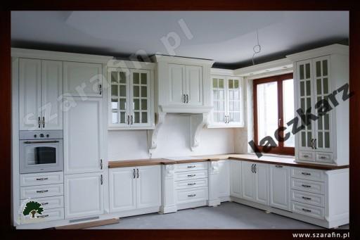 Kuchnia Drewniana W Stylu Prowansalskim Siejskim
