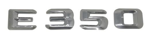 E350 Emblemat napis do Mercedesa, literki na tył