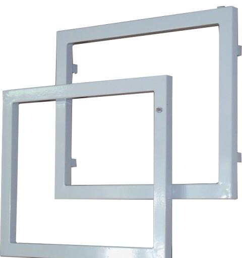Grzejnik Dekoracyjny Termal świetlik 770x670 Biały
