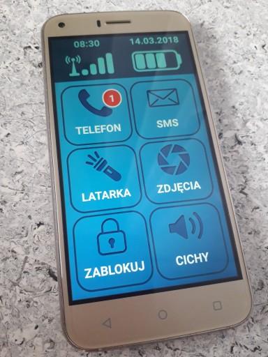 Smartfon Dla Seniora Telefon Dla Seniora Android 7756955237 Sklep Internetowy Agd Rtv Telefony Laptopy Allegro Pl