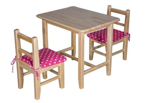 stolik i dwa krzesła allegro