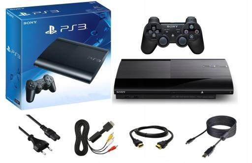 Nowa Konsola Sony Playstation 3 Super Slim 12gb 7498439157 Sklep Internetowy Agd Rtv Telefony Laptopy Allegro Pl