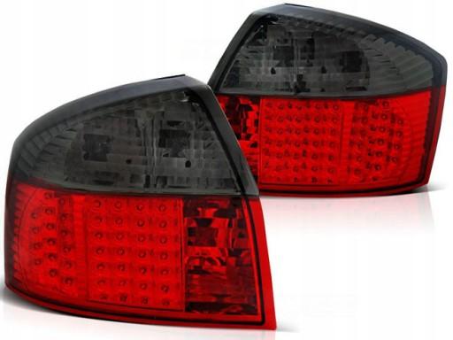 AUDI A4 S4 B6 8E 00 05 sedan lampy diodowe tyl LED