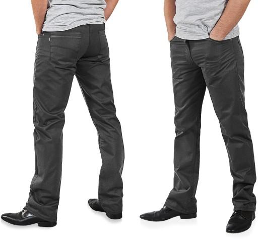 Eleganckie Spodnie Męskie Wizytowe 610/4D 98 cm/32 7594456104 Odzież Męska Spodnie XL VQEMXL-3