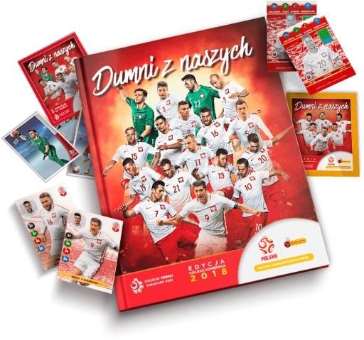 Dumni Z Naszych 2018 Biedronka Album 96 Naklejek 7494329109 Allegro Pl