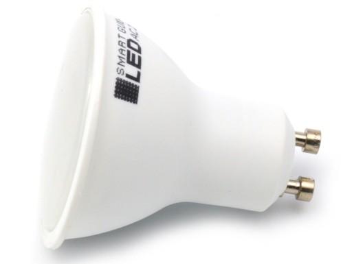 Żarówka GU10 LED 2835 SMD 5W RA80 /3 BARWY ŚWIATŁA