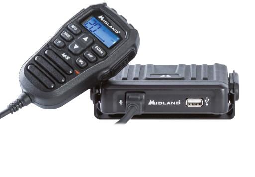 RADIO CB MIDLAND M-5 USB AM/FM + 2x gratis