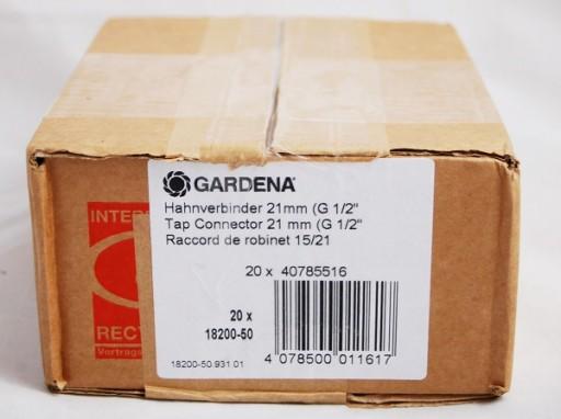 Gardena Przyłącze Kranowe 21mm (G 1/2) 18200-50