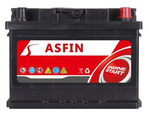 AKUMULIATORIUS ASFIN 12V 80Ah 730A (EN) P+ AUDI,BMW