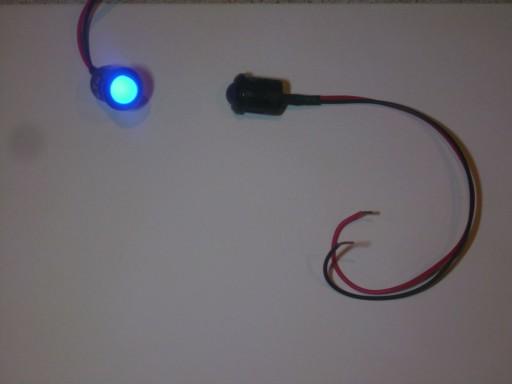 VALDYMAS LED MELYNA mat 10mm/14mm 12v 24v