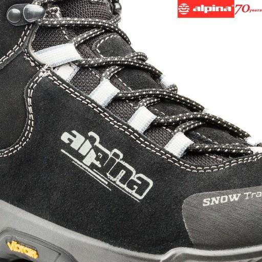 ALPINA SNOWTRACK Buty Trekkingowe Zimowe Śniegowce