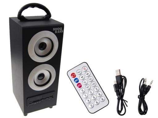 Głośnik przenośny 11W Radio FM USB MP3 SD S11