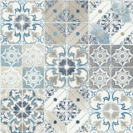 Tapeta Wzór Retro Mozaika Kafelki Płytki Ugepa