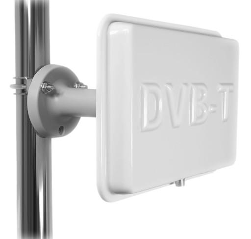 NAJMOCNIEJSZA ANTENA PANELOWA DVB-T 100dBuV FULLHD