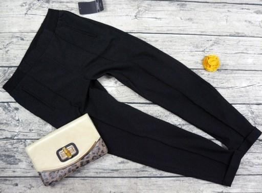 spodnie damskie eleganckie czarne zara