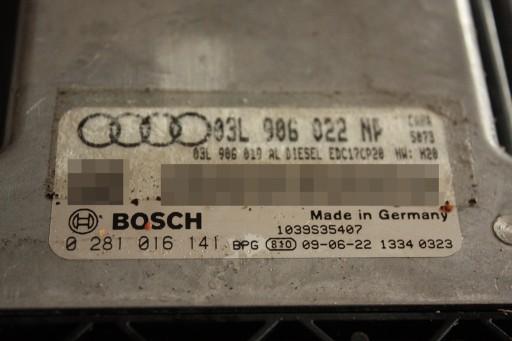 Komputer Audi A4 2.0 TDI CAHA 170KM 0281016141