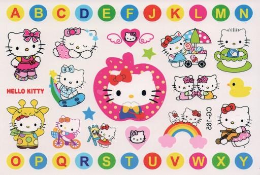 Tatuaże Zmywalne Czasowe Dla Dzieci Hello Kitty 65