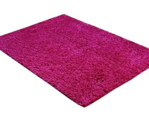 Dywan Shaggy 2 Cm 100x200 Cm Róż Różowy Wyprzedaz