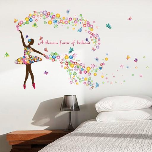 Naklejka Na Sciane Elf Baletnica 1 7757201167 Allegro Pl
