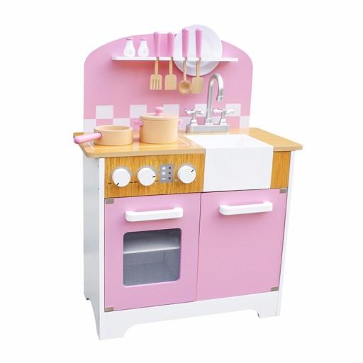 Nowość Duża Kuchnia Drewniana Dla Dzieci Kuchenka