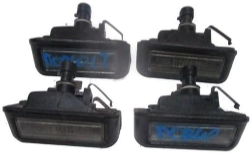 Fiat Doblo Oświetlenie Tablicy Rejestracyjnej