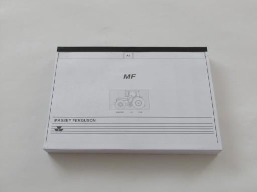Katalog części Massey Ferguson 8160 Dynashift