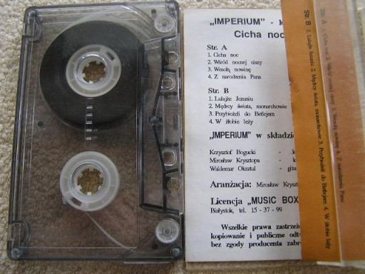 IMPERIUM - CICHA NOC [MC].K3