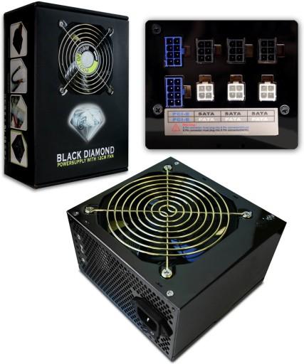 Black Diamond 850w Pov Modularny 4 X 12v Czesci Komputerowe Zasilacze Allegro Pl