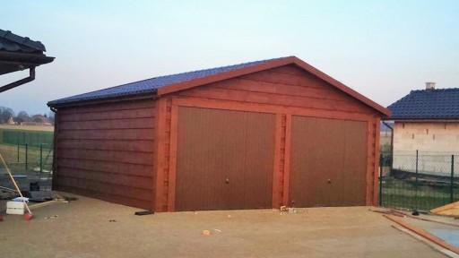 Garaż Drewniany Dwustanowiskowy 35m2 Wiata 7603168886 Allegropl