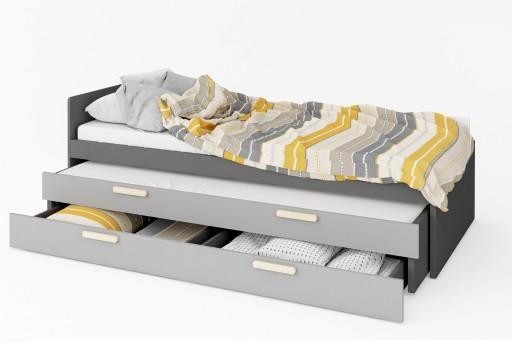24h Młodzieżowe Pok łóżko Podwójne Z Materacami 6989618189 Allegropl