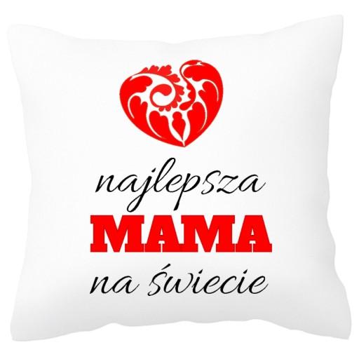 Prezent Dla Mamy Najlepsza Mama Poduszka 6961241884 Allegro Pl