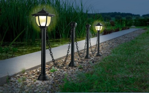 lampy do ogrodu na allegro