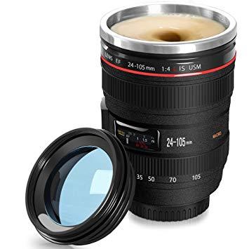 Kubek Termiczny Obiektyw Fotograf Samomieszajacy 7696085205 Allegro Pl