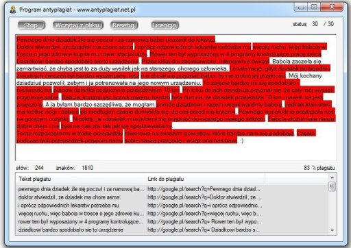 Program Antyplagiatowy Antyplagiat Plagiat faktura