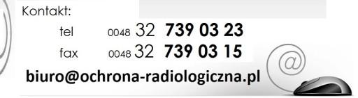 FARTUCH OCHRONNY RTG CHIRURGICZNY 100x60cm rentgen
