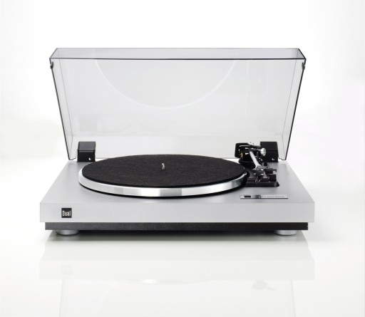 gramofon analogowy DUAL CS455-1/OMB10/silver-silve