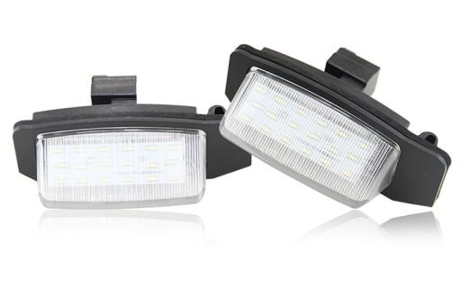 Led Lampki Podswietlenie Tablicy Citroen C Crosser Wroclaw Allegro Pl